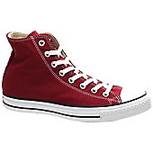 Converse All Star Hi Maroon Shoe M9613 - Red
