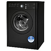 Indesit Ecotime Tumble Dryer, IDVL75BRK, 7KG Load, Black