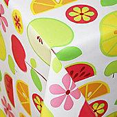 Fruit n Flowers 150cm x 135cm Oilcloth Tablecloth