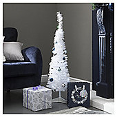 3ft Decorated Christmas Tree, White