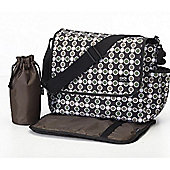 OiOi Messenger Bag (Essential Bionic Dot Caviar)