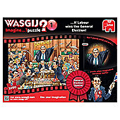 Wasgij Imagine General Election Special Labour 1000-Piece Jigsaw Puzzle
