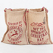 Christmas Gift Bags (set of 2)