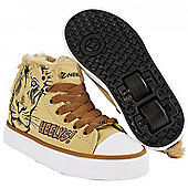 Heelys Zoo Series Lion Kids Heely X2 Shoe - Brown