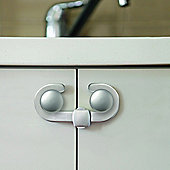 Dreambaby Silver Secure A Lock Cupboard Lock