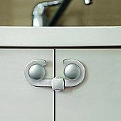 Dreambaby Silver Secure A Lock Cupboard Lock