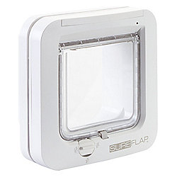 SureFlap Microchip Cat Flap - White Frame