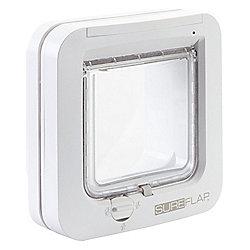 SureFlap Microchip Cat Flap - White Frame