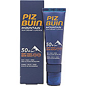Piz Buin Mountain Sun Cream Lipstick SPF 50 20ml