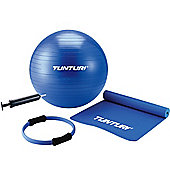 Tunturi Pilates Kit - Ball, Mat, Pilates Ring