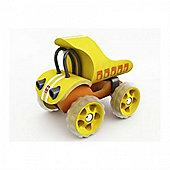 Hape E-Truck Yellow