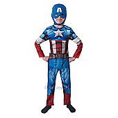 Captain America - Child Costume 5-6 years