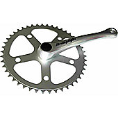 Stronglight 55 Series Single Chainset: 46T x 3/32inch. 170mm Cranks