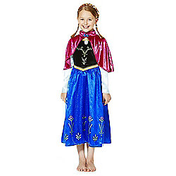 Disney Frozen Anna Dress-Up Costume years 03 - 04 Multi