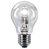 Philips EcoClassic Halogen A55 70 W E27 Edison Screw Warm White Light Bulb