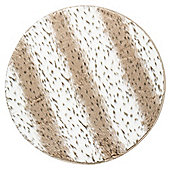 Tesco Faux Fur Circle Rug