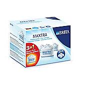 Brita 100482 Maxtra Filter Cart X3 +1 Free