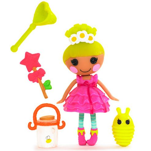 MGA Entertainment Mini Lalaloopsy Doll Pix E. Flutters
