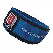 iDME Kids Safety iD Wristband Blue Camo