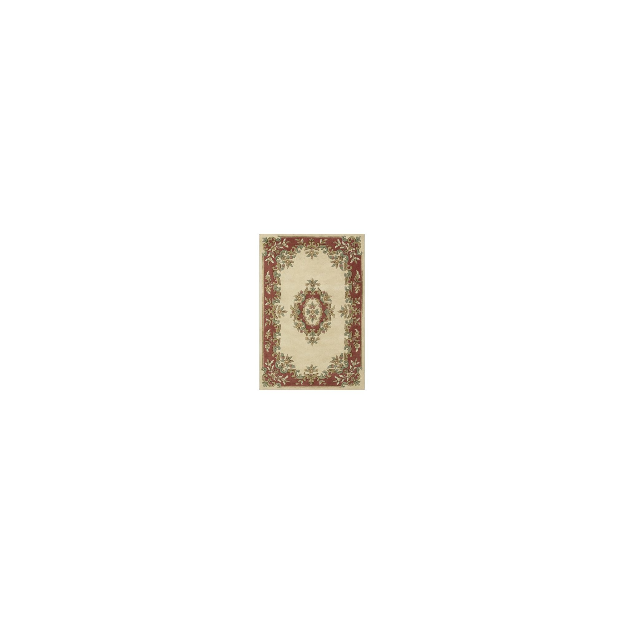 Brook Lane Rugs Royal Cream/Rose Classic Oriental Rug - 160cm x 235cm at Tesco Direct
