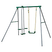 Plum Single Swing And Glider Set