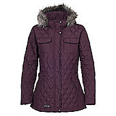Trespass Ladies Purdey Quilted Jacket - Red