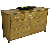 Moda Solid Oak 3 Over 4 Chest of Drawers