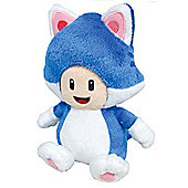 "Official Nintendo Super Mario Plush Series Stuffed Toy - 8"" Cat Toad"