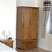 Wiseaction Ascot Wardrobe with 2 Door and 1 Drawer