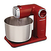 Morphy Richards 3.5L Stainless Steel Food Mixer - Red