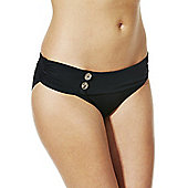 Curvy Kate Fold Over Bikini Briefs - Black