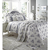 Catherine Lansfield Home Black Toile Super King Size Quilt Set
