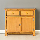 Poldark 2 Door Sideboard - Light Oak