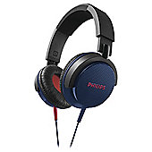 Philips SHL3100 DJ Style On-Ear Headphones - Blue