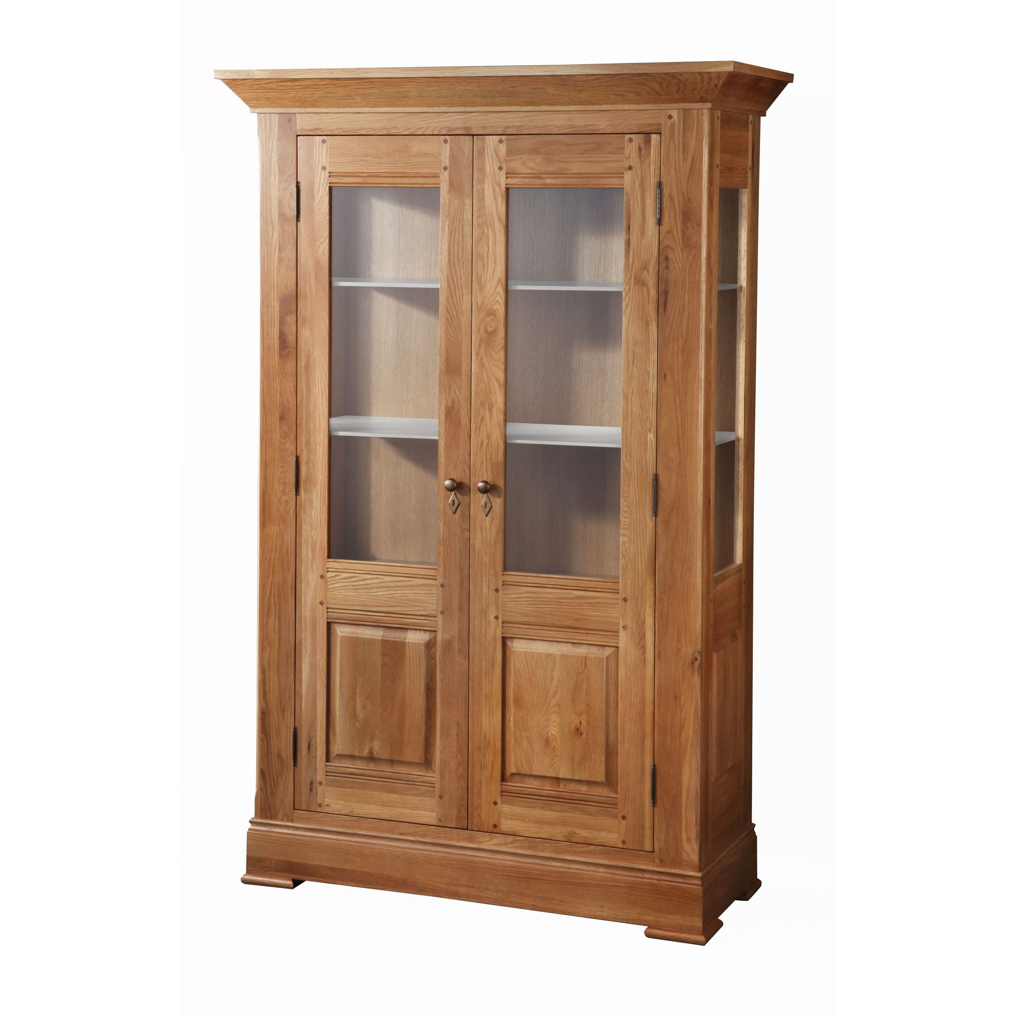 Wilkinson Furniture Normandy Display Cabinet in Lacquer at Tesco Direct