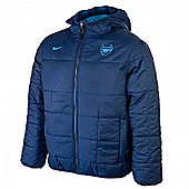 2011-12 Arsenal Nike Flip It Jacket (Reversible) - Navy