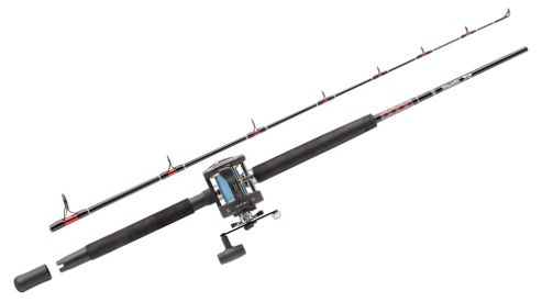Abu Garcia MT702SWH/GT345 RH 2PC Boat Rod and Reel Combo - 15-40lb