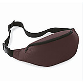 Bagbase 2.5L Ladies Adjustable Belt Bag Chocolate