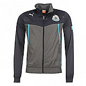 2013-14 Newcastle Puma Walkout Jacket (Black) - Kids - Black