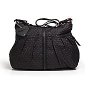 Babymel Amanda Quilted Changing Bag Black
