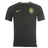 2014-15 Brazil Third World Cup Football Shirt - Black