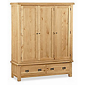 Alterton Furniture Pemberley Triple Wardrobe