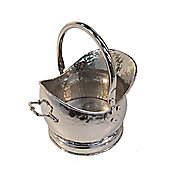 Crannog Medium Bucket Log Holder in Silver