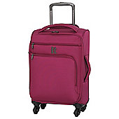 IT Luggage Megalite 4-Wheel Small Cerise Suitcase