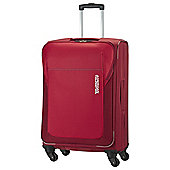 Samsonite American Tourister San Francisco 4-Wheel Suitcase, Red Medium
