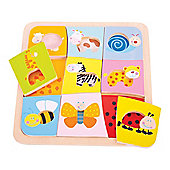 Bigjigs Toys BJ509 Animal Patterns Puzzle