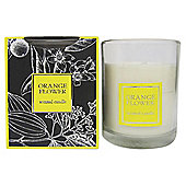 Greenhill and York Orange Flower Boxed Candle