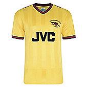 Arsenal 1985 Away Centenary Shirt - Yellow