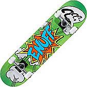 Enuff Pow Green 7.75inch Complete Skateboard