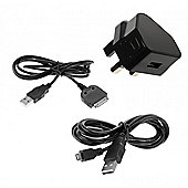 2 Amp Mains Charger for Micro USB and Apple 30pin